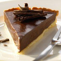 Abbildung des Rezepts Feine Schokoladen-Tarte