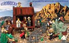 Spaghetti Western by I Scream Clone. Love the cacti :)