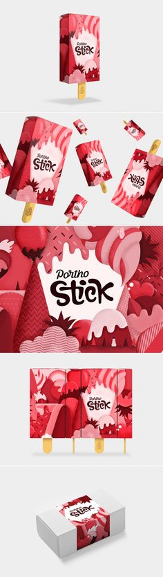 This Popsicle Packaging Comes With Wonderful Illustrations — The Dieline | Packaging & Branding Design & Innovation News