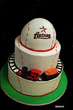 My Astros wedding cake!!! Lol