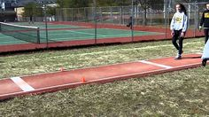 short run drills Track And Field Events, Track Field, Track Drill, Triple Jump, Pole Vault, Long Jump, Track Workout, Vaulting, Drills
