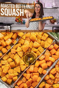 Enjoy the aromatic, sweet flavor of roasted butternut squash with this simple recipe that even includes help for cutting and peeling in addition to four different flavor options. Grilled Butternut Squash, Grilled Squash, Veggie Side Dishes, Vegetable Dishes, Vegetable Recipes, Vegetarian Recipes, Vegetarian Dinners, Vegan Vegetarian, Cracker Barrel Copycat Recipes