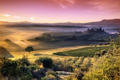 Val d'Orcia Color Punch by Adnan Bubalo - Photo 172819645 / 500px