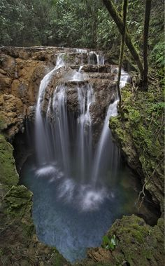 Monkey's Hole Waterfall, Brazil;  photo by Ricardo Bevilaqua, via 500px