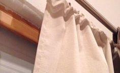 Ce qu'elle utilise pour doubler son rideau en vue de la saison froide est tellement brillant! Fallait juste y penser!