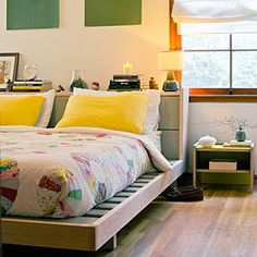 Design tips for small bedrooms | Storage-savvy space
