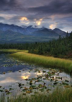Beautiful! Mentasta Range ~ Wrangell Saint Elias National Park, #Alaska  #boomer #travel