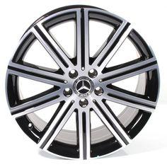 19 inch wheel set 10-spoke wheel V-Class BR447 original Mercedes-Benz Mercedes Benz, Black Polish, The Originals, Color, Google, First Grade, Black Enamel, Colour, Colors