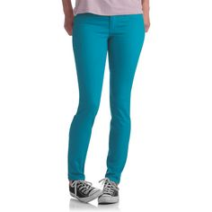 No Name Juniors Skinny Neon Colored Jeans: Juniors : Walmart.com ...