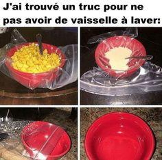 J'ai trouvé un truc pour ne pas avoir de vaisselle à laver ! #mdr #lol #rire