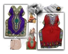Boho Kimono Abaya Caftan Dress by boho-chic-2 on Polyvore featuring Deux Lux