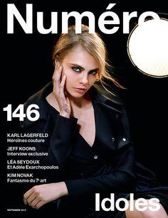 #NumeroFrance 146 #CaraDelevingne by #KarlLagerfeld