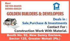 PROPERTY FOR SALE KHARAR: Fully Builtup Two Side open Showroom size (16.5×66) With A Smart Rental Income At Backside Of KFC With Huge Front Parking. 98159-66455