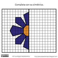 Form Drawing, Drawing Games, Work Activities, Preschool Activities, Pixel Art, Visual Perception Activities, Math Lab, 2nd Grade Math Worksheets, Graph Paper Art