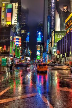 New York City Times Square la nuit Hdr Wallpaper, New York Wallpaper, Mobile Wallpaper, Times Square, Empire State Of Mind, I Love Nyc, City That Never Sleeps, Dream City, Living In New York