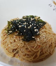 Korean Dishes, Korean Food, Soy Sauce Noodles, Kids Cookbook, Asian Recipes, Ethnic Recipes, Kimchi, Food And Drink, Tasty