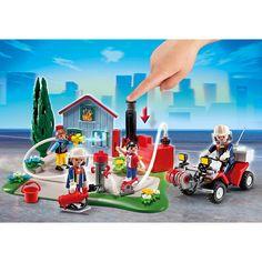 Playmobil City Action Zestaw jubileuszowy Akcja strażacka i quad, 5169, klocki