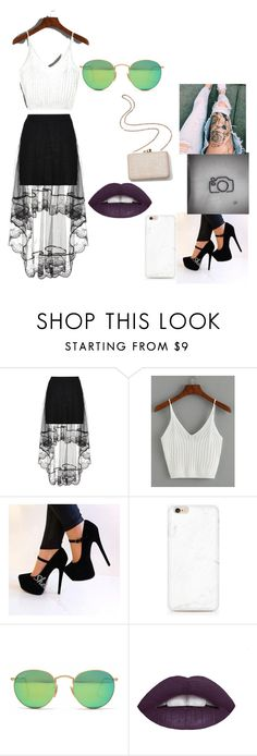 """""""Hã? Party!?"""" by vitoriagott ❤ liked on Polyvore featuring Kayu and Ray-Ban"""