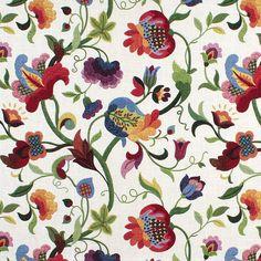 Richloom Gloria Jubilee Fabric Pair of Decorative by GosiaFigura