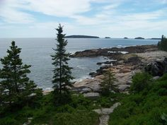 Maine Coast Landscape