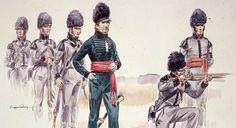 Les Voltigeurs Canadiens- La geurre de 1812