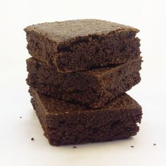 NEW chocoate brownies. yum. via ducknews
