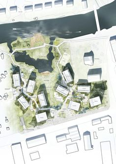 "C.F. Møller to design new ""Örnsro Timber Town"" residential quarters in Örebro"