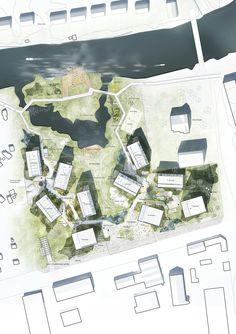 """C.F. Møller to design new """"Örnsro Timber Town"""" residential quarters in Örebro"""