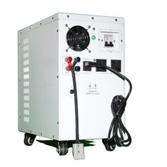 eMS 500 energy manager is designed to manage your energy needs by allowing for interaction between grid power, green solar power, and green stored power.