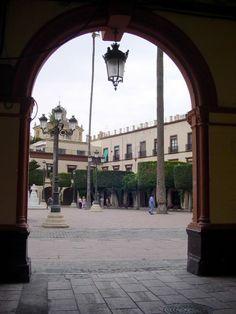 Almería - a gateway to the Plaza de la Constitución  - photo: Robert Bovington  #Almeria #Andalusia #Spain #España http://bobbovington.blogspot.com.es/2013/05/almeria-by-robert-bovington.html