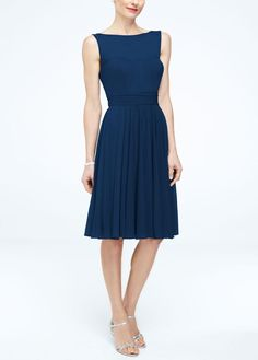 NEW! Short Mesh Dress with Sweetheart Illusion Neckline Style F15701 $119.00