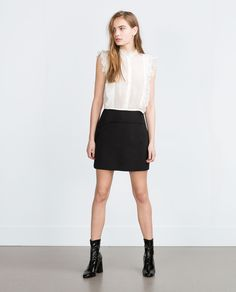 COMBINED DRESS - Dresses - TRF | ZARA United States