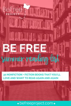 "I get asked all the time, ""what's a good book to read?"" and if you know me I can spit out a ton of recommendations at any given time. I thought it would be cool to create a list of books that you can check out to add to your summer reading list. REPIN & SHARE"