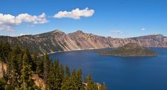 Crater Lake, in the Cascade Range (From: Oregon's Best Road Trip for Eco-Lovers)