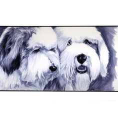 old english sheepdog art work | OES on Pinterest | Old English Sheepdog, Sheep Dogs and Old English