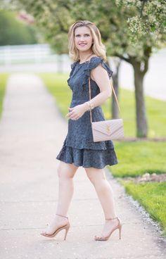 Spring Summer Fashion   Petite Fashion Blog   The Blue Hydrangeas