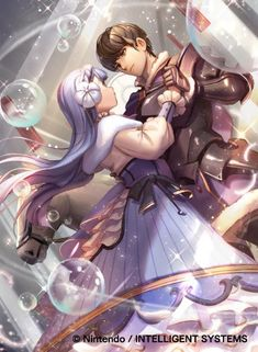 Cipher S9 Artwork of Linea and Berkut from SoV!