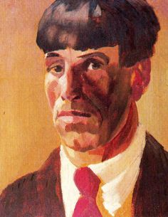 Stanley Spencer (British 1891–1959) Self-portrait, 1924.