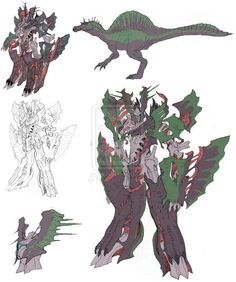 Spinosaurus toy concept 11-02 by TGping on deviantART