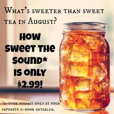 The ebook is on sale through August!!! Check your favorite ebook retailer and share with a friend for a story full of hope, How Sweet the Sound!