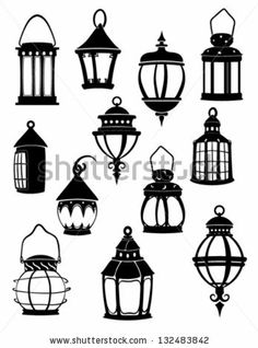 Similar Images, Stock Photos & Vectors of Print - 132483842 Bullet Journal Doodles, Elementary Art, Doodle Art, Paint Designs, Painting, Illustration Art, Art, Simple Wall Paintings, Lantern Drawing