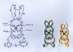 Alcuni anni fa nel blog di una mia collega polacca ho trovato questo simpatico coniglietto. Ho fatto qualche prova, ho cambiato leggermente l'impostazione ed ecco il mio coniglietto. Se avete vogl...
