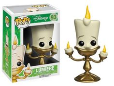 The Beast's kind but rebellious host from Disney's Beauty and the Beast is now a vinyl figure! The Beauty and the Beast Lumiere Pop! Vinyl Figure m...