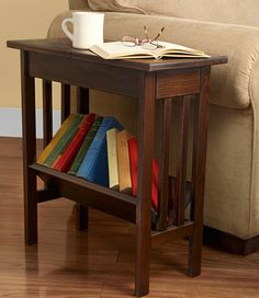 Mission Flip Top Side Table: End Tables At L.L.Bean $199