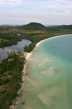Lagoon and Long Set Beach. This is Koh Rong island, Cambodia!