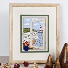 Twilleys Cross Stitch Kit - Coastal View