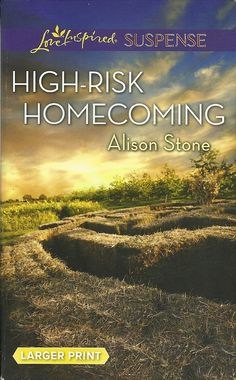 Product Details  •Title: High-Risk Homecoming • Author: Alison Stone • Mass Market Paperback: 282 pages • Publisher:  Love Inspired Large Print Edition (July 7, 2015)  • Language: English • ISBN-10: 0373676921  • ISBN-13: 978-0373676927  • Product Dimensions:  4.2 x 0.8 x 6.6 inches  •Condition: Very Good, no markings, tears, or rips. Tight Binding, soft cover shows some minor wear, Read Once and stored