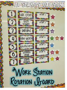 Classroom Decor And Organization - All Students Can Shine