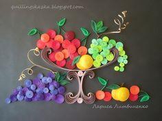 Волшебная сказка про квиллинг: Плодово-ягодный десерт!