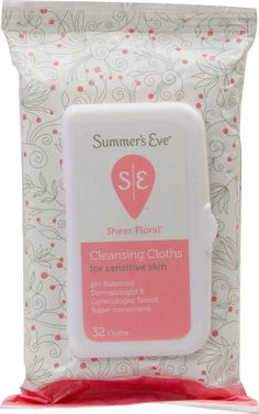 Summer's Eve Sensitive Skin Cleansing Cloths, 32 *** This is an Amazon Affiliate link. Details can be found by clicking on the image.
